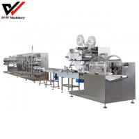 Disposable Single Package Wet Wipe Production Line Manufactures