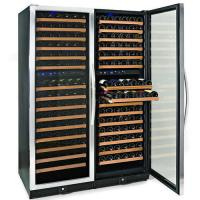 340 Bottles Compressor Wine Cooler (Fridges), Multi-Zone, Stainless Steel Doors Trim and Handles Manufactures
