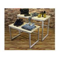 Multi - Funcutional Nesting Display Tables Mobile Space Saving For Shopping Mall Manufactures