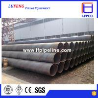 Contruction Materials/ DIN EN API 5L SSAW/HSAW/ERW High Strength Spiral Welded Steel Pipe/Tube for Oil Manufactures