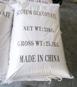 water reducing agent sodium gluconate suppliers concrete admixture cement additive gluconate de sodium Manufactures