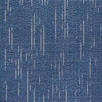 Indoor Blue Office Floor Coverings 100% Bamboo Fiber Jacquard Style Manufactures
