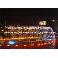 LED Light Decorative Decorative Garden Water Fountains Outdoor Or Indoor Dancing Manufactures