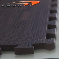 China Eco-Soft Wood Floor Tiles - EVA foam softer , safety passing EN71,REACH, Formamide on sale