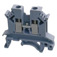 All Copper Low Voltage Components UK-2.5N 2.5b UK10 UK35 Feed Through Universal Modular Terminal Block Manufactures