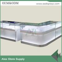 China wholesale mobile phone shop design furniture& counter design for mobile phone/computer store on sale