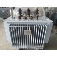 Outdoor Amorphous Alloy Core Transformer , SBH15 Series Oil Immersed Transformer Manufactures