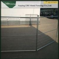 Hot Dipped Galvanized Canada Temporary Fence Barriers For Traffic Control Manufactures