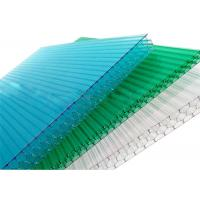 10mm Thickness Plastic Honeycomb Polycarbonate Sheet 100% Virgin Material Anti Weather Manufactures