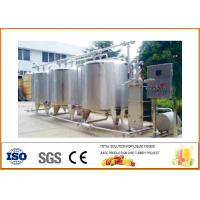 China Energy Saving SUS304 Material Apple Juice Production Line 20T/H Capacity on sale