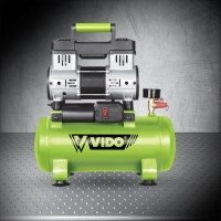 China VIDO 600W 0.8HP 8L Oil Free Silent Air Compressor WD060210808 on sale
