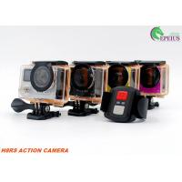 Ultra 4K H8RS VR 360 Camera WiFi Dual Screen Waterproof Anti Shake For Outdoor Sports Manufactures