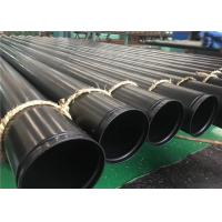 Fire System Grooved ERW Steel Pipe ASTM A795 GR.A, GR.B, GR.C With Red Or Black Painting Manufactures