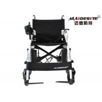 14 Inches Electric Assisted Wheelchair , Lightweight Compact Wheelchair Manufactures