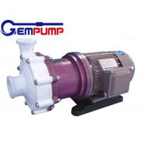 ZMD Fluorine plastic self-priming magnetic pump red cast Iron / Industrial Centrifugal Pumps Manufactures