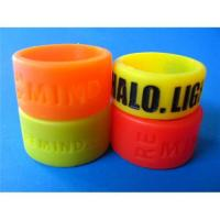 Quality Debossed Silicone Bracelet for sale