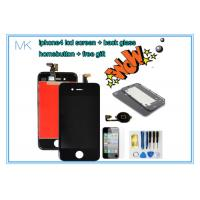 China Apple 4g Black Cell Phone Screen Replacement Digitizer with Frame + LCD Assembly on sale