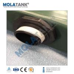 Mola TPU PVC foldable water storage bladder/ water tank for desert storage Manufactures