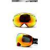 Customize Yellow No Fog Ski Goggles Mirror Lens Snowboard Goggles for Men Manufactures