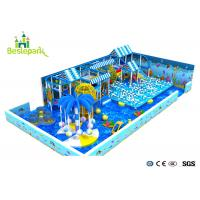 Buy cheap Ocean Theme Big Slides Indoor Playground , Commercial Indoor Playground from wholesalers