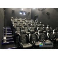 Luxury Theme Park 5D Movie Theater With Motion And Vibration Effect Seats Manufactures