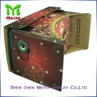 Colorful Virtual Reality Cardboard Box for Watching 3D Movie / Video Manufactures