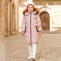 High Quality Kids Clothes New Style Jacket Outdoor Girl Winter Coat Russian High Rock Padded Down Jacket Manufactures