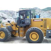 Large Construction Equipment Front End Wheel Loader With 4.2 CBM Bucket Volume Manufactures