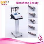 5 in 1 Cavitation RF Ultrasound 40K tripolar vacuum body shaping machine Manufactures
