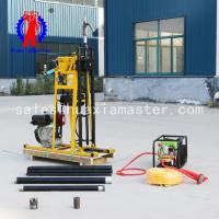 Hydraulic light core sampling drill rig YQZ-50A/small diesel power geology exploration drilling machine 50mters deep Manufactures