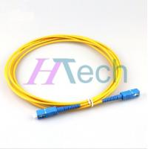 China 2M SC/SC 9/125um Simplex Fiber Optic Patch Cord on sale