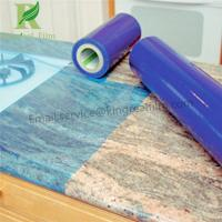 Blue 0.03mm-0.20mm Thickness Self Adhesive Protetcive Film for Marble Manufactures