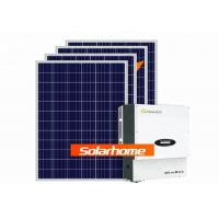 Home Use Solar Panel System 5000w Solar Panel Inverter ETL Certification Manufactures