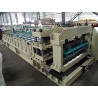 Steel Rollers Step Tile Roll Forming Machine Automatic for Metal Tile Manufactures