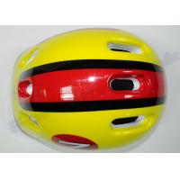 Protective Rubber Inline Skating Helmets Quick Release Buckle with PVC Shell Manufactures