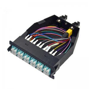 12/24 Fiber MPO/MTP Cassettes Engineering Plastics / Aluminum Alloy Material Manufactures