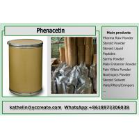 China Pain Killer Phenacetin Pharma Raw Powder 62-44-2 For Fever Reducing on sale