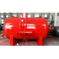 China Carbon Steel 10 Ton Foam Bladder Pressure Vessel Tank Horizontal Type on sale