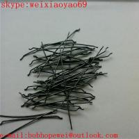 endhooked steel fiber/hooked end steel fibre Manufactures