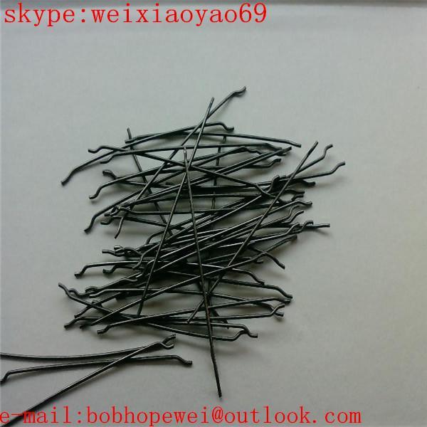Quality endhooked steel fiber/hooked end steel fibre for sale