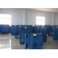 China 1200x1000mm Plastic Heavy Duty Pallets , Strong Plastic Shipping Pallets on sale