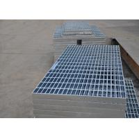 32 X 5mm Steel Walkway Grating , Flat Hot Dipped Galvanised Steel Grating Manufactures
