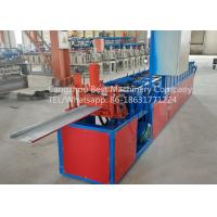 Hydraulic Roofing Sheet Making Machine 250 / 312 And 416mm Changeable Soffit Panel Manufactures
