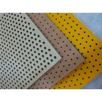 China Interior Perforated Wood Panels Grooved Decorative Acoustic Diffuser Panels on sale