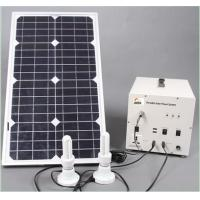 30w small solar system for home use with poly solar panel Manufactures