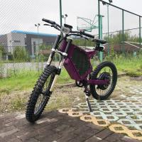 Quality 72V 8000W Full Suspension Electric Mountain Bike Maximum Speed 100 Km/H for sale