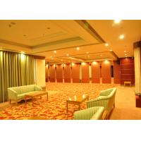 Training Room Folding Divider Walls , Folding Wall Panels For Home Studio Recording Manufactures