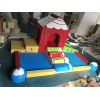 Climbing Bridge Type Indoor Soft Play Equipment Strongly Attractive For Childrens Manufactures