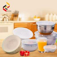Customized Design High Quality Silicone Cup Lid,Silicone Suction Lid silicone cup lid,silicone stretch lids Manufactures