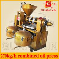 Quality biodiesel oil press machine automatic temperature controlled multi function oil expeller for sale